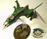 Eldar Crimson Hunter biel-tan
