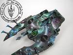 Wave serpent galaxy space