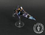 galaxy space Warlock jetbike