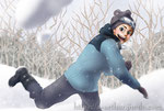 寒中見舞い(2018)