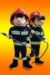 Mascota bomberos Benalmadena