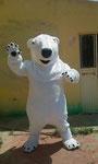 Oso polar Mascota publicitaria