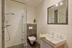 Badezimmer mit DU/WC ein weiteres extra Gäste WC vorhanden - Fewo Sonnalm