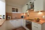 Kochnische samt Geschirrspülmaschine in unserer Fewo Sonnalm