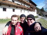 Micha, Alois und Wolfi