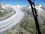 ....der Aletschgletscher (Foto von Jochen)