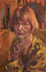 Portraitstudie Erika, unvollendet, Öl auf Leinwand, 45/30 cm, 2008