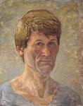 Selbstportrait, Tempera auf LW, 1976