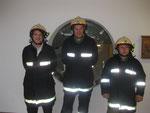 v.l.n.r.: HFM Oberhammer Martin, HFM Marksteiner Michael und OFM Hintner Florian