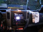 Cockpit Bereich Steuerung der Beleuchtung