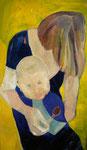 Mutter und Kind (70x100)
