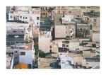 Stadt IV, 100x150 cm, Acryl,Papier,Leinwand, 2015