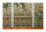 Der Balkon, 120x180 cm, Acryl,Papier,Leinwand, 2013