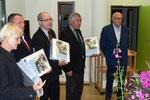 Remise des Livres d'Or aux Maires, aux Anciens Combattants et  au musée de Baden