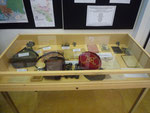 Souvenirs provenant de soldats badennois. Entrée de l'exposition
