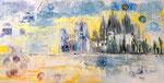 Pilgern unterm Sternenzelt 2014 Acryl auf Leinwand, 450,00 €