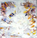 Kreislauf der Zeit 2013 Acryl auf Leinwand 90 x 90 cm, 550 €
