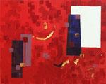 Die Farbe ROT 2008 Acryl auf Leinwand 80 x 100 cm, 500,00 €