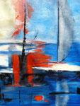 Auf See 2010 Acryl auf Leinwand 60 x 80 cm, unverk.