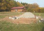 Oktober 2009 - Baubeginn