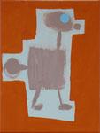 o.T., Acryl auf Leinwand, 30 auf 20 cm, 2017