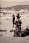 Skispringen in den Jahren um 1960