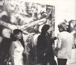 in meiner spray art ausstellung 1980