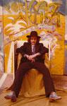 als portrait artist um 1980