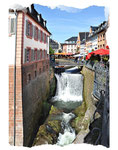 Wasserfall in Saarburg