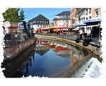 Fluß Leuk in Saarburg