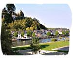 Die Saar bei Saarburg