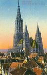 Ulmer Münster Ostansicht