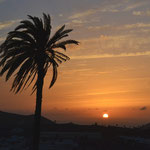 Lanzarote Uga Sonnenuntergang