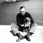 Curzio Malaparte à Capri. Cliquez sur l'image pour l'agrandir.