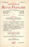 """NRF n° 70, octobre 1958. Forton fait partie des chroniqueurs des """"Notes"""". Cliquez sur l'image pour l'agrandir."""