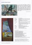 Faltblatt zur Ausstellung, Kunstausstellung Kühl, 2015 / 2016