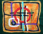 Christliches.... (70 x 50 cm, montiert 90 x 70 cm)