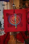 Spirale (auf Keilrahmen 70 x70 ) motiert ggf. 90 x 90 cm