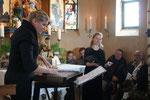 Wendelsteinkirchlein: Laura Faig und Pia Grandl mit Dowlandliedern