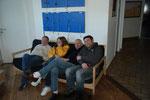Stephane, Sylvaine, Pascal et John