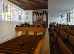 Orgel- und Seitenempore