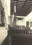 Orgelempore mit der alten Walcker-Orgel