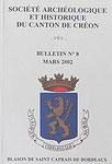 Bulletin N° 8 (2002)