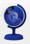 Dansle bleu de l'œuf terrestre, les enfants de Gaïa et Eluard.