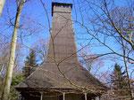 Irene-Turm - zweite Pause auf fast 600 ü.M.