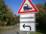 Die Solardraisinenbahn - in nächster Nähe zur ALTEN BUX in Zotzenbach