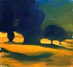 leuchtet – 110 x 120 cm – Öl auf Leinwand