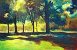 Moorweide – 110 x 170 cm – Öl auf Leinwand