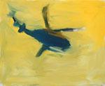 fliegt – 54 x 65 cm – Öl auf Leinwand