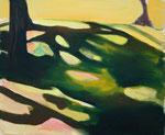 Schatten – 54 x 65 cm – Öl auf Leinwand